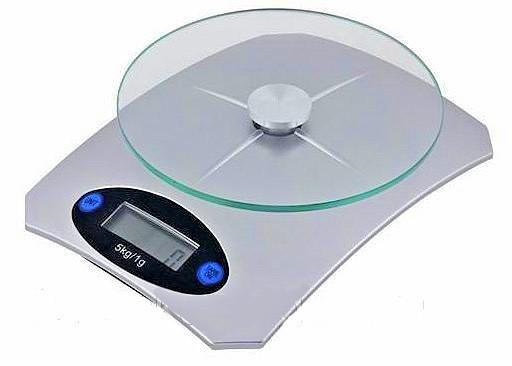 Кухонні ваги Livstar до 5 кг, скляна платформа