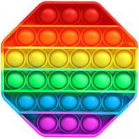 Игрушка антистресс сенсорная вечная пупырка Pop It Восьмиугольник