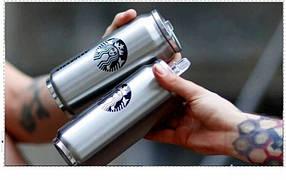 Термос термокружка з трубочкою Vacuum Cup Starbucks 500мл