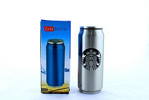 Термос термокружка с трубочкой Vacuum Cup Starbucks  500мл, фото 2