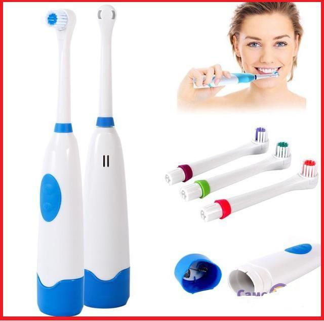 Електрична зубна щітка Revolve Brush, електрощітки на батарейках