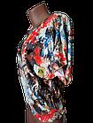 "Блуза футболка женская ""Эрика"" р.50-52 хлопок стрейч.От 3шт по 49грн, фото 3"