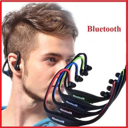 Спортивные беспроводные Bluetooth НАУШНИКИ Влагонепроницаемые, фото 2