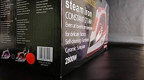 Праска Domotec 2200W керамічна підошва, фото 3