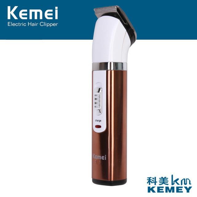 Бритва Kemei Машинка для стрижки волосся і бороди, Триммер для бороди, Бездротова машинка для стрижки