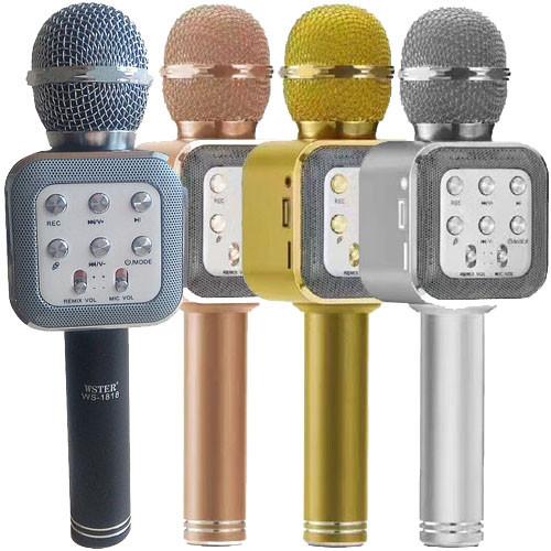 Микрофон караоке Беспроводной bluetooth