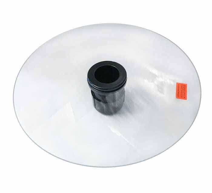 Столик для газового обогревателя Elegance, Rattan, Barcelona 6 мм диаметр 37 см  Германия