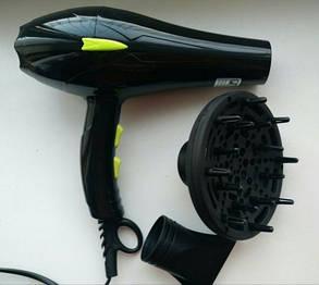 Професійний фен для сушіння волосся Promotec, 3000W, фото 2