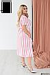 Женское платье летнее льняное больших размеров, фото 4