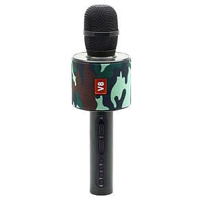 Караоке микрофон bluetooth V8 +чехол в подарок, фото 2