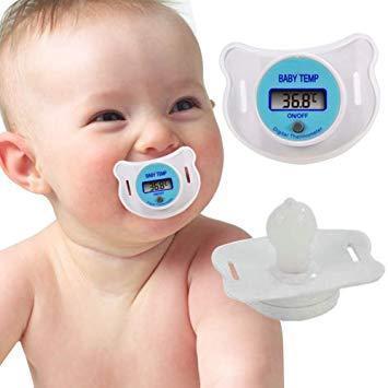 Дитяча соска - термометр SOSKA TEMERATURE