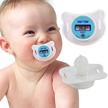 Дитяча соска - термометр SOSKA TEMERATURE, фото 2