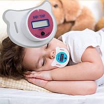 Дитяча соска - термометр SOSKA TEMERATURE, фото 3