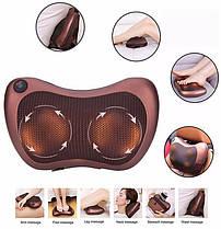 Масажна подушка Magic Massager подушка для шиї,спини,попереку,в Автомобіль, фото 3
