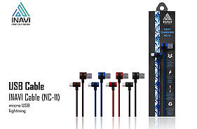 USB cable INAVI micro USB (NC-11) бронзовый