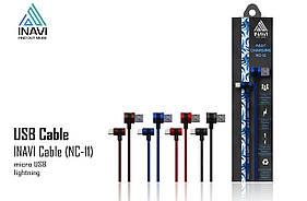USB cable INAVI Lightning (NC-11) бронзовый