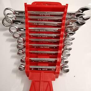 Набір Гайкових Ключів Рожково - Накидних 10 ключів 6-22мм, фото 2