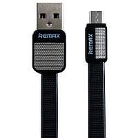 USB cable Micro USB Remax (Metal Platinum RC-044m) черный