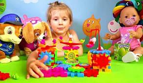 Детский конструктор Funny Bricks 81 деталь Фани Брикс, фото 3