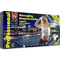 Масажний обруч халахуп Massaging Hoop Exerciser Professional Bradex з магнітами, фото 3