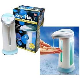 Сенсорний дозатор рідкого мила Soap Magic