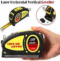 Лазерный уровень Level Pro 3 с рулеткой 5,5 м, фото 2