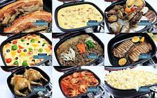 Сковорода двостороння для гриля і смаження A-PLUS 30 см, фото 3