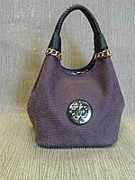 Женская сумка красивая,имитация нубука (Турция).