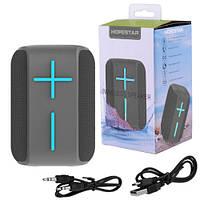 Bluetooth-колонка HOPESTAR-P16, StrongPower, c функцией speakerphone, радио, PowerBank, grey