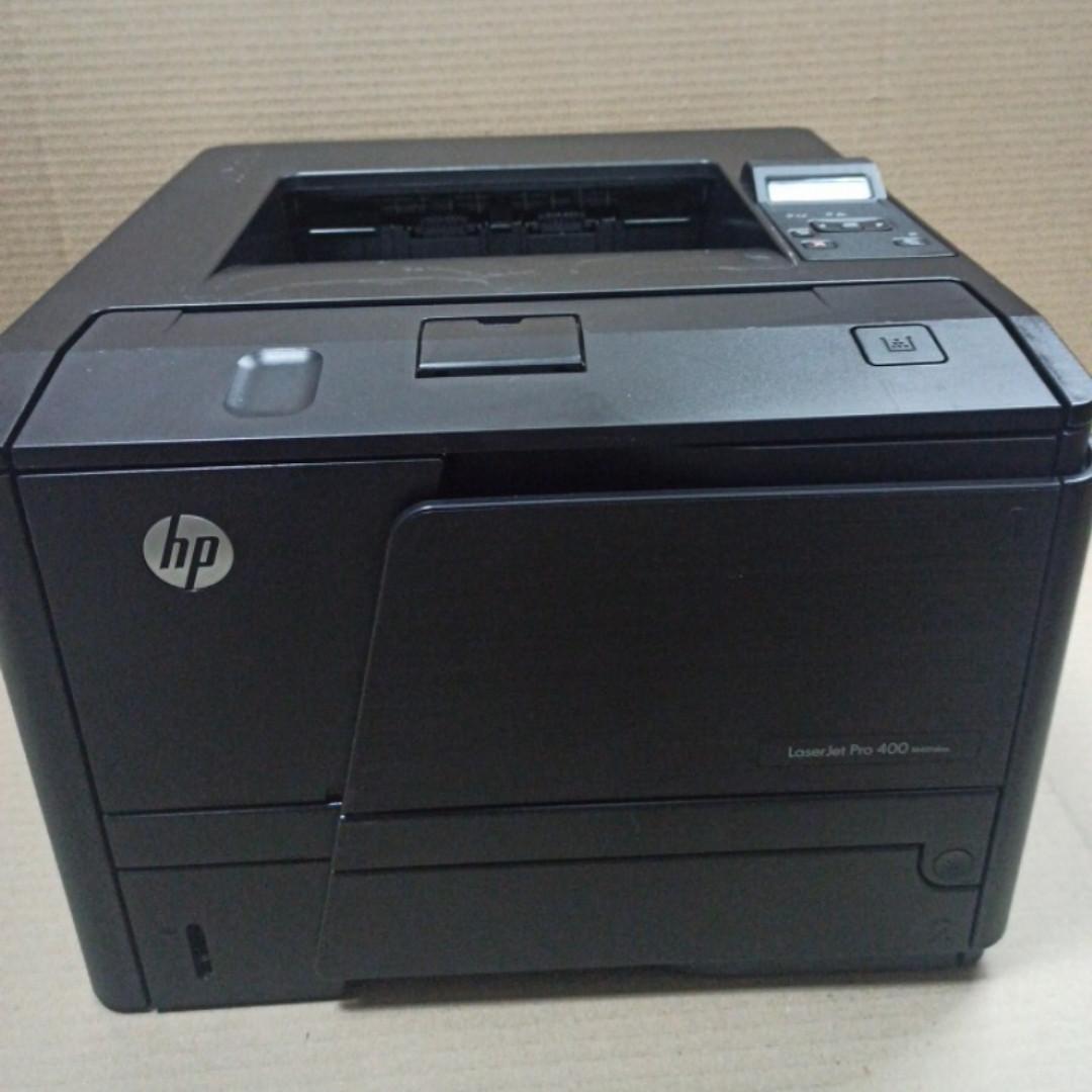Принтер  HP LaserJet Pro 400 M401dne  пробіг 9 тис. з Європи