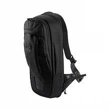 M-Tac рюкзак однолямочный Agent Elite Hex Black