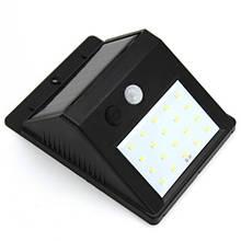 Уличный светильник с датчиком движения Черный (5115)