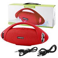 Bluetooth-колонка HOPESTAR-H37, StrongPower, c функцией speakerphone, радио, red
