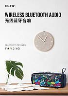 Колонка Bluetooth XO F12 черный