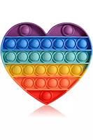 Игрушка антистресс сенсорная вечная пупырка Pop It Сердце
