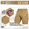 M-Tac шорти Aggressor Summer Flex Coyote, фото 6