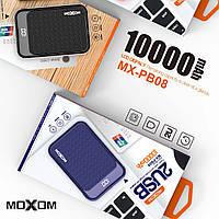 АКБ PowerBank MOXOM MX-PB08 (10000mAh) черный