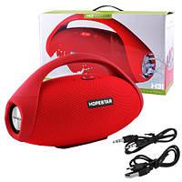 Bluetooth-колонка HOPESTAR-H31 BIG, StrongPower, c функцией speakerphone, радио, PowerBank, red