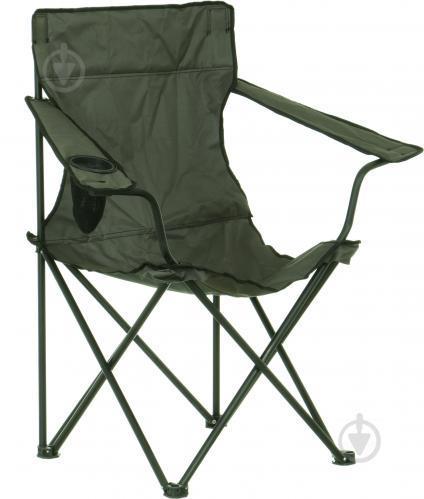 Крісло розкладне Рибак сірий