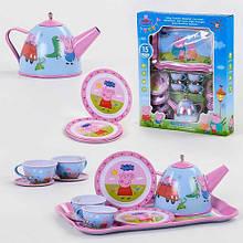 """Игровой набор металлической посуды """"Peppa"""" арт. 555 CH 020"""
