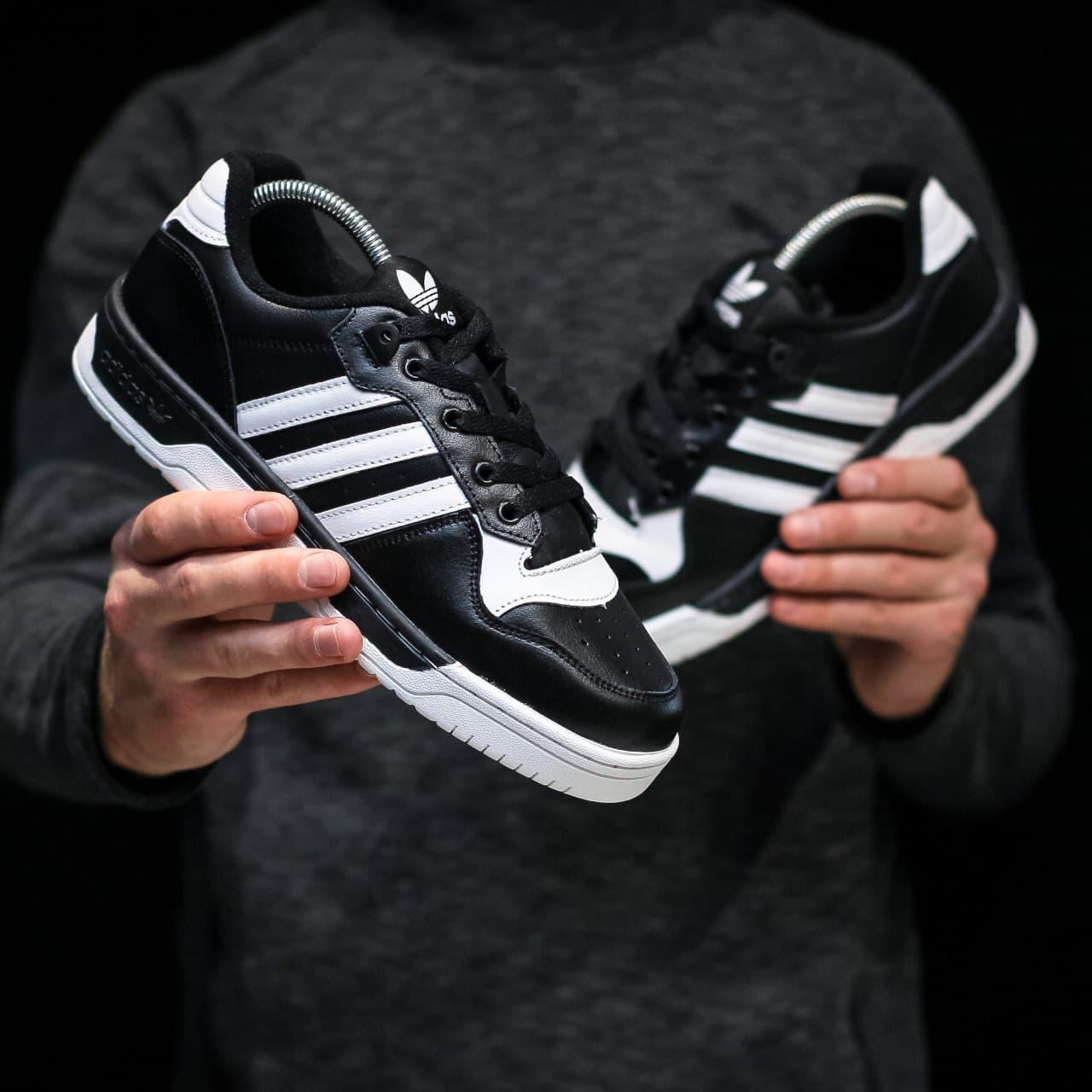 "Мужские кроссовки Adidas Forum ""White/Black"""