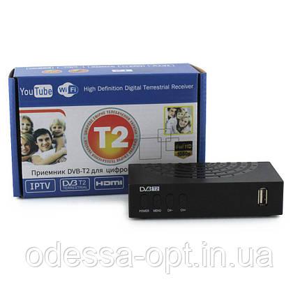 Тюнер DVB-T2 MEGOGO SMALL з підтримкою wi-fi адаптера (ТІЛЬКИ ЯЩИКОМ !!!!!, фото 2