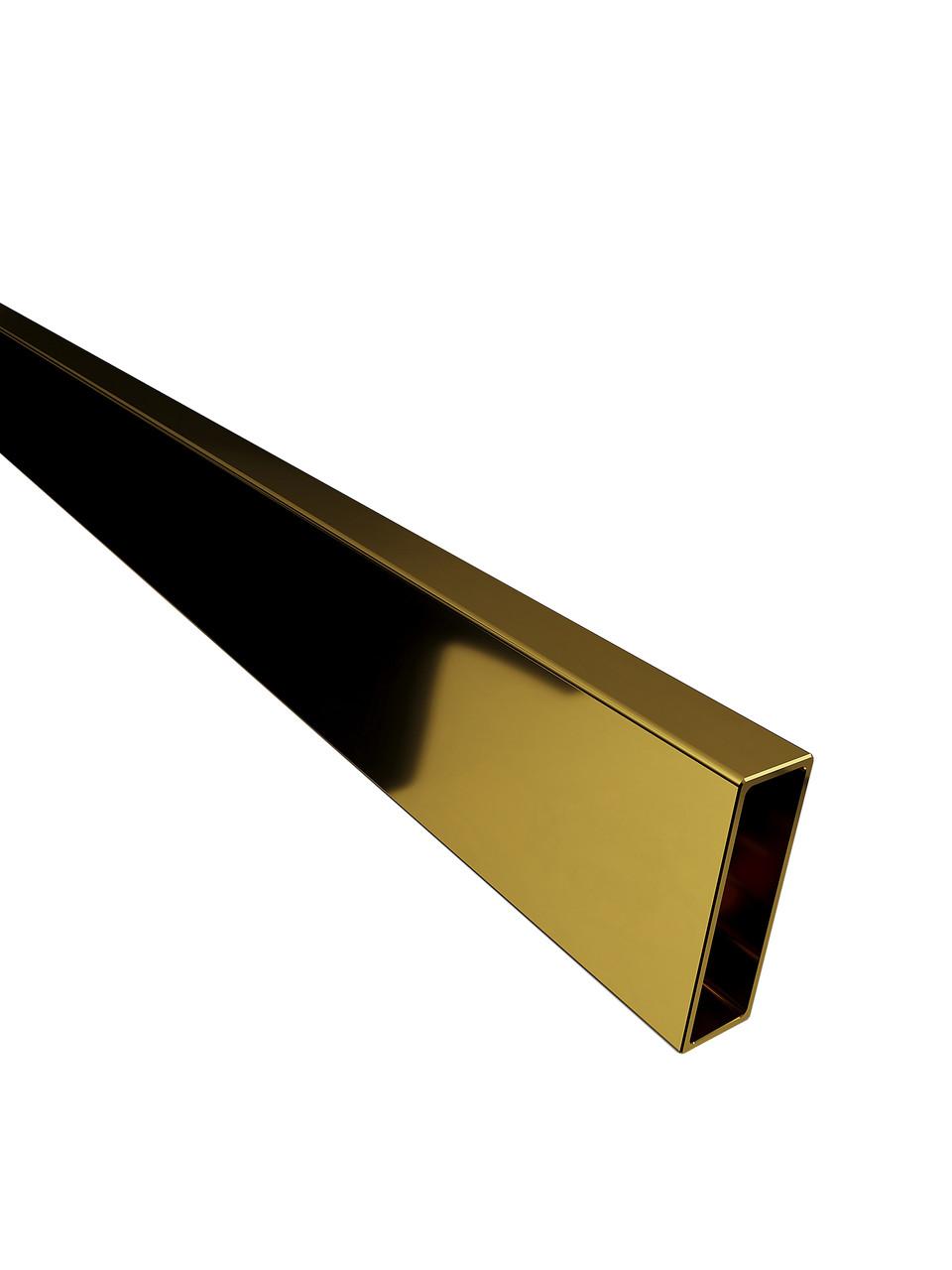 ODF-04-06-10-L1500 Рейок 30х10 під розсувну душову перегородку, золото