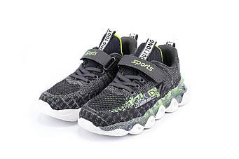 Кросівки ERRA, Серый с зеленым, 34, 21см