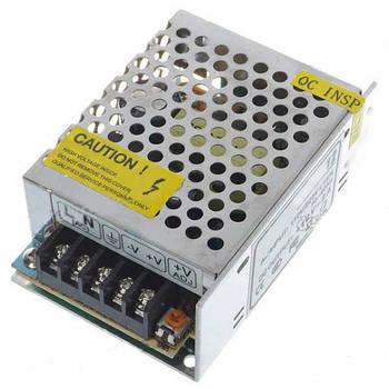 Блок питания UKC 12V 3,5A металлический (6706)
