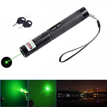 Зелена лазерна указка Laser 303 лазер (1360)