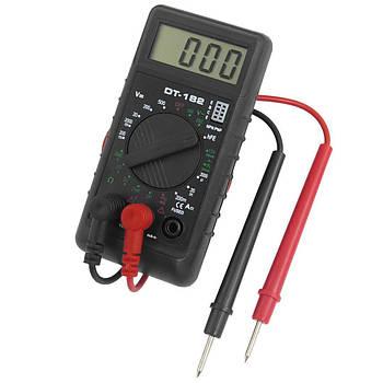 Цифровий мультиметр (тестер, вольтметр) DT-182 (1015)