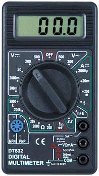 Цифровий мультиметр (тестер) DT-832
