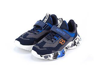 Кросівки ERRA A-1-2BLUE-GRAY, Синий с серым, 34