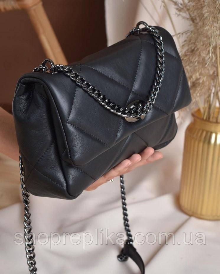 Кроссбоди женская сумка натуральная кожа Италия Итальянская женская кожаная сумка через плечо